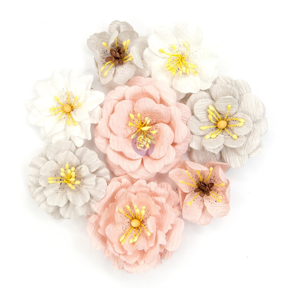 Набор цветов Prima Marketing Cherry Blossom Paper Flowers Thea, 8 шт