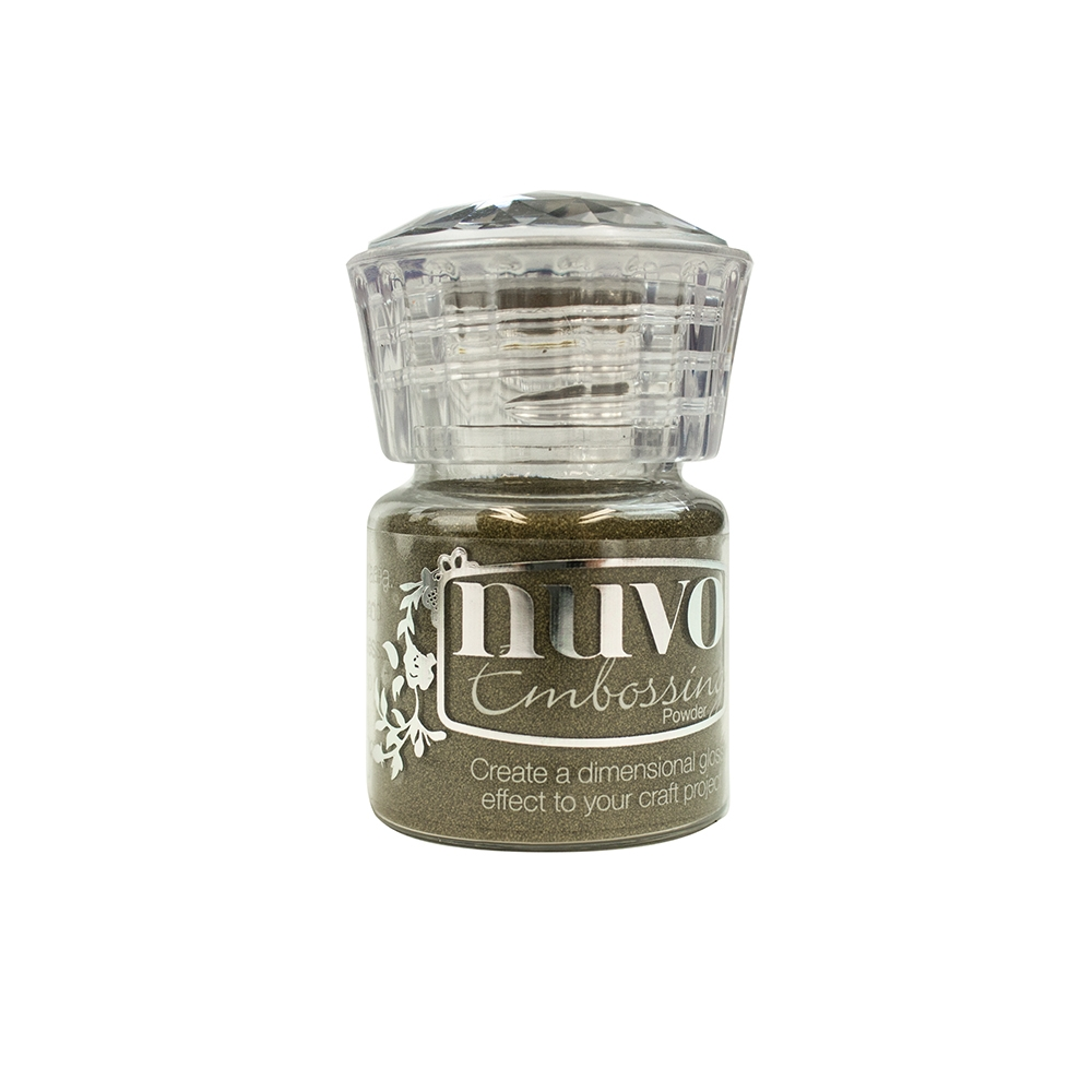 Пудра для эмбоссинга GOLD - NUVO EMBOSSING  POWDER
