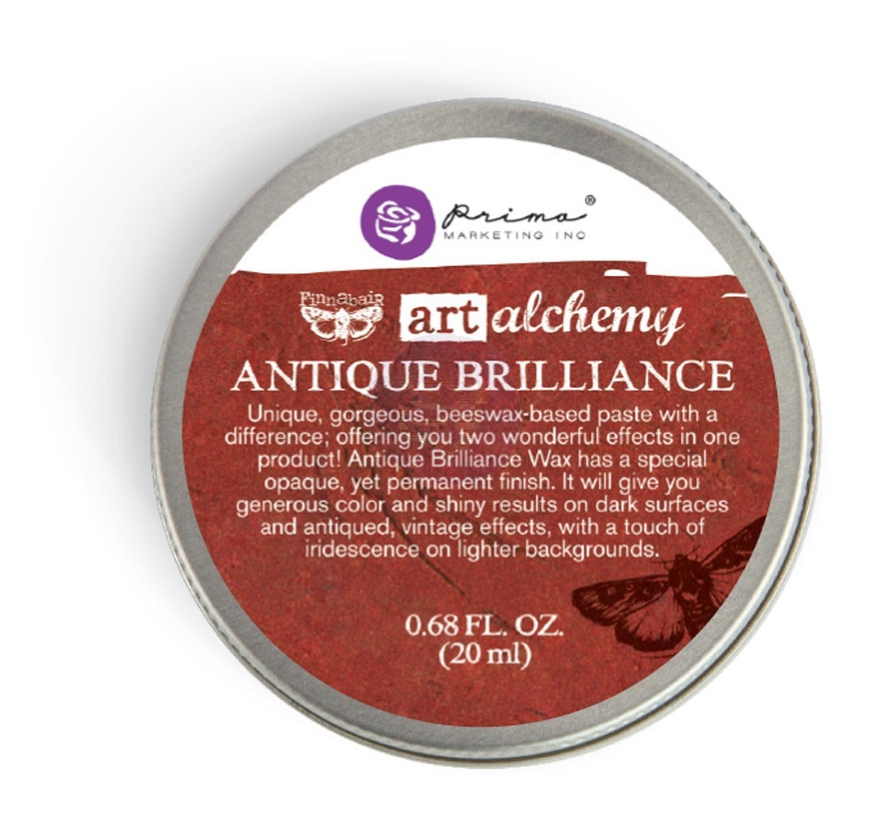Воск - FIRE RUBY- Finnabair Art Alchemy Antique Brilliance Wax Fluid 20мл
