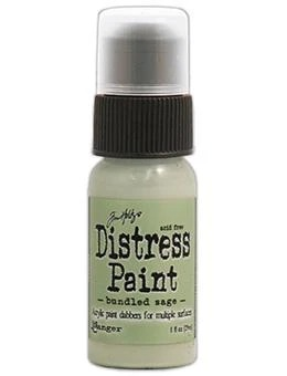 Акриловая краска Ranger - Tim Holtz - Distress Paint - Bundled Sage