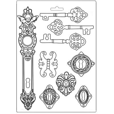 Молд A4 к коллекции Lady Vagabond от Stamperia, K3PTA485 в Москве | Купить товары для скрапбукинга, рукоделия и творчества в интернет-магазине GoldenScrap